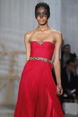 Jason Wu F/W 2011 - Jourdan Dunn