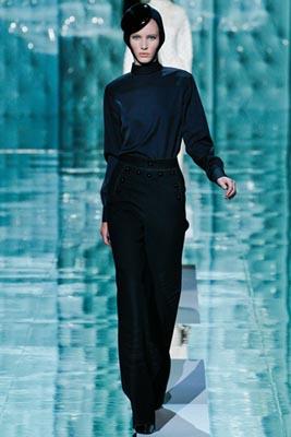 Marc Jacobs F/W 2011 - Emily Baker
