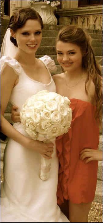 Bride Coco Rocha