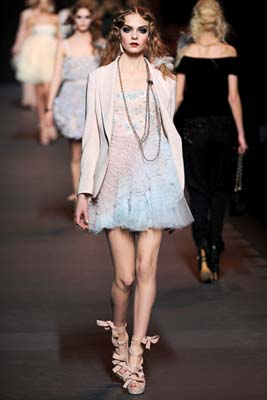 Christian Dior F/W 2011 - Nimue Smit