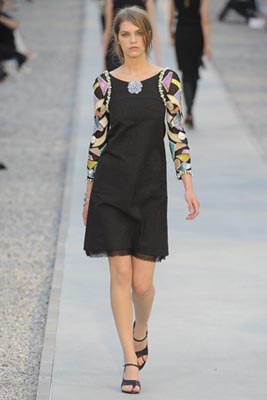 Chanel Cruise 2012 Cap d'Antibes - Samantha Gradoville