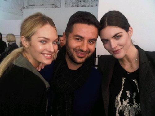 Givenchy F/W 2011 - Candice Swanepoel,Ali Kavoussi,Hilary Rhoda