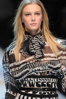 D&G F/W 2011 - Sigrid Agren