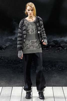 Chanel F/W 2011 - Emily Baker