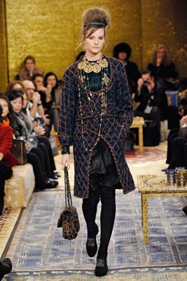Chanel Paris-Byzance Pre Fall 2011 - Sara Blomqvist