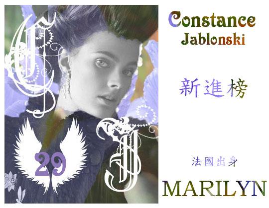 29.Constance Jablonski