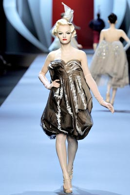 Christian Dior Haute Couture S/S 2011 - Ginta Lapina