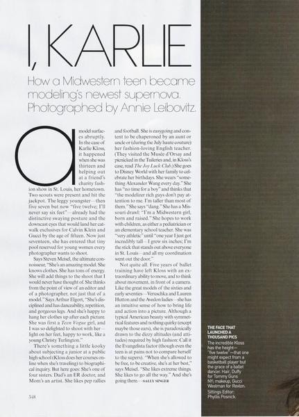 Vogue September 2009