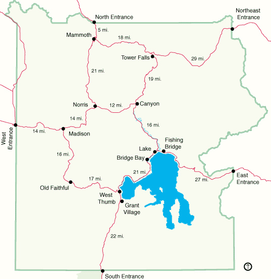 Map of Yellowstone National Park.bmp