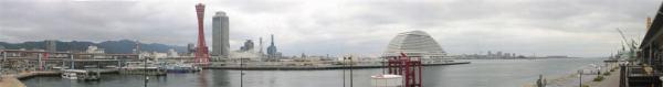 神戶港全景