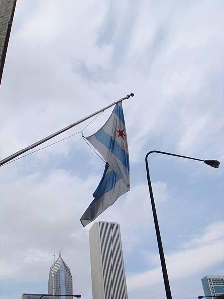 芝加哥市旗.JPG