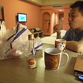 晚餐吃鹽酥雞@關西六福莊