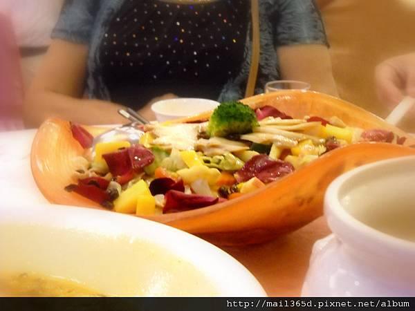 2011嘉義小原餐廳_素食沙拉