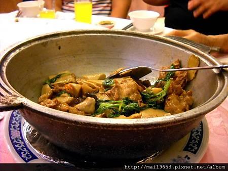 2011嘉義小原餐廳_素食三杯