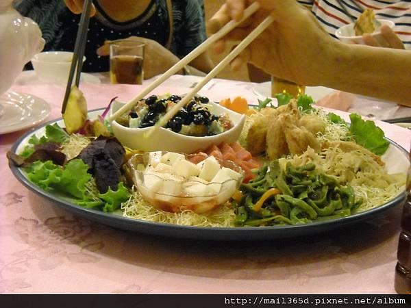 2011嘉義小原餐廳_素食冷盤