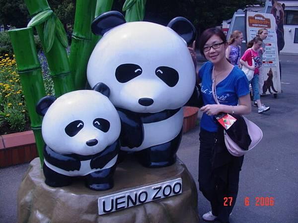 可愛假熊貓