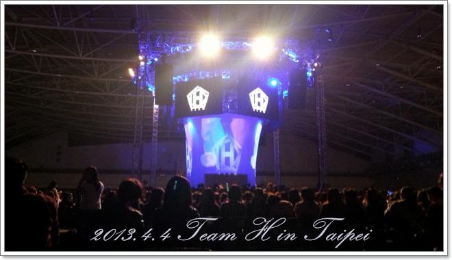 2013.4.4 Team H in Taipei