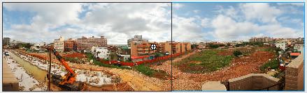 簡單環景效果 (AS2)-左邊
