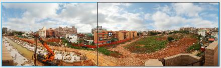 簡單環景效果 (AS2)-右邊