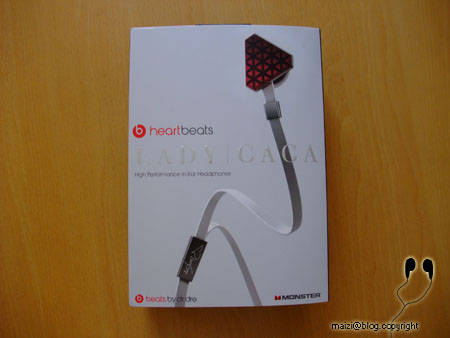Heartbeats by Lady Gaga耳機 (Fake) -03.JPG