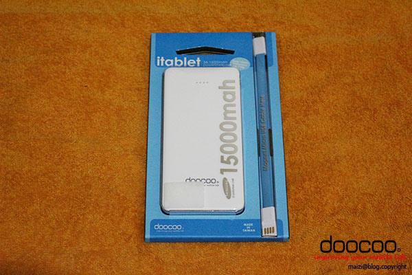 doocoo iTablet 15000mAh 雙輸出行動電源 -1.jpg