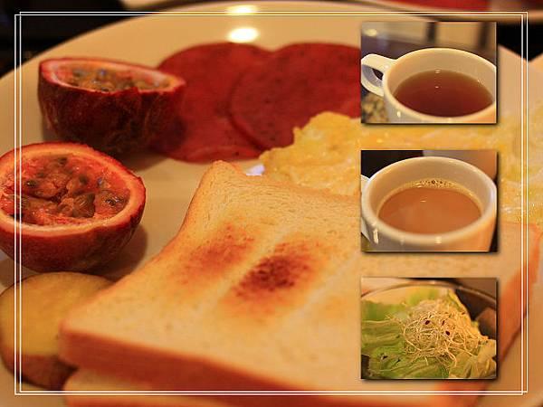 桂月村提供的早餐