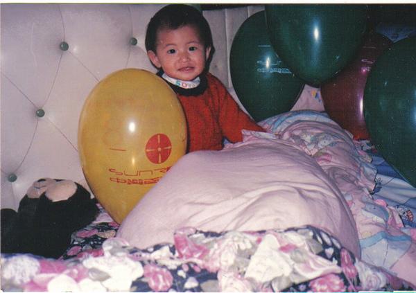 我還沒很胖的小時候