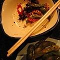 彭文賢吃了很多毛豆