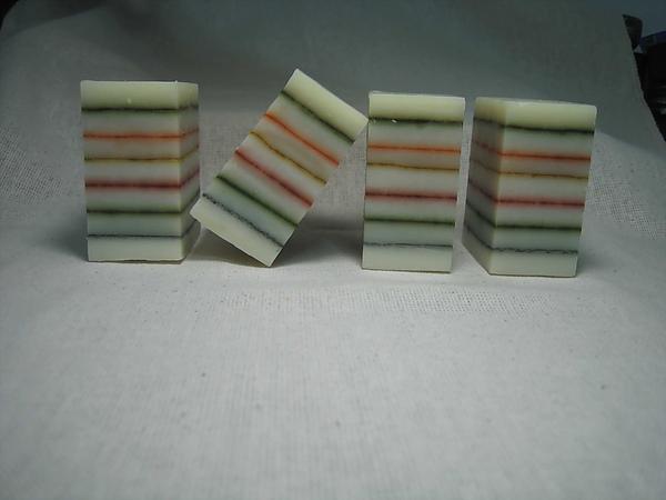七層篩粉分層皂