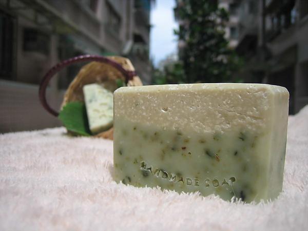 夏日海鹽皂