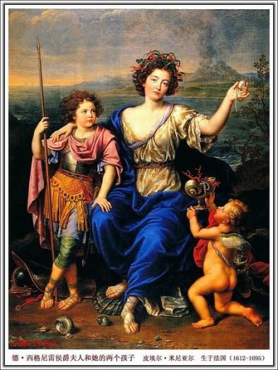 德西格尼雷侯爵夫人和她的兩個小孩.jpg