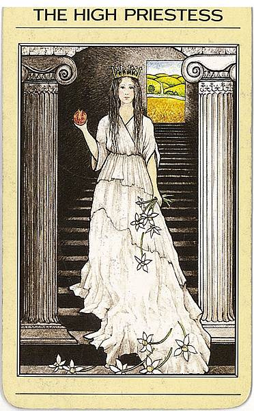 2-the-high-priestess