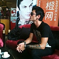 Media interviews in Chengdu, China, 15th September 2011.jpg