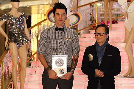 Maksim's Gold Disc in China for Appassionata-02.jpg