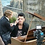Maksim did the video shoot for his new single The Godfather at Lands End in Cornwell, England.-04