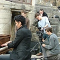 Maksim did the video shoot for his new single The Godfather at Lands End in Cornwell, England.-06