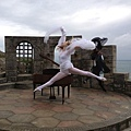 Maksim did the video shoot for his new single The Godfather at Lands End in Cornwell, England.-08