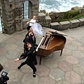 Maksim did the video shoot for his new single The Godfather at Lands End in Cornwell, England.-09