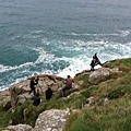 Maksim did the video shoot for his new single The Godfather at Lands End in Cornwell, England.-10