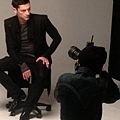 Maksim doing the photoshoot for the largest man's fashion magazine Arena Homme in Seoul, South Korea-02