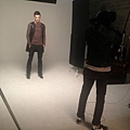 Maksim doing the photoshoot for the largest man's fashion magazine Arena Homme in Seoul, South Korea-04