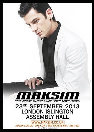 Maksim London Concert 2013
