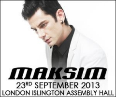 23 September 2013 MAKSIM LONDON ISLINGTON ASSEMBLY HALL CONCERT
