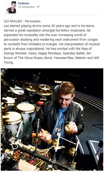 2013.09.19 - LEA MULLEN - Percussion