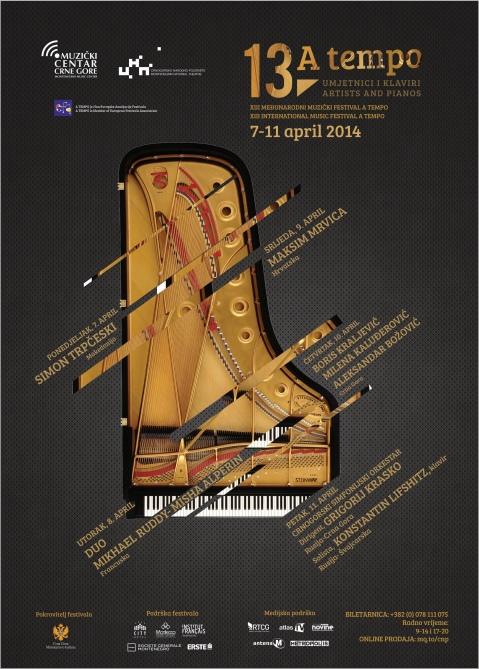 13. Međunarodni muzički festival A Tempo (Festival 2014)
