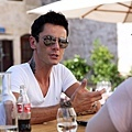 Maksim doing interview and the photoshoot for Story magazine Sibenik, Croatia-02