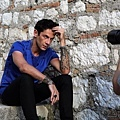 Maksim doing interview and the photoshoot for Story magazine Sibenik, Croatia-04