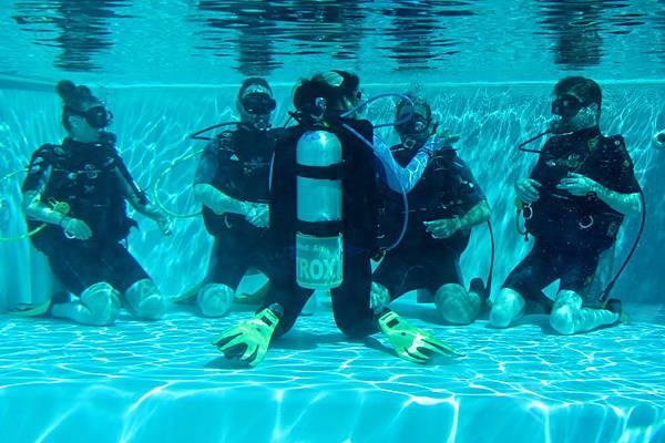 瑞典的衝浪客也來潛水囉
