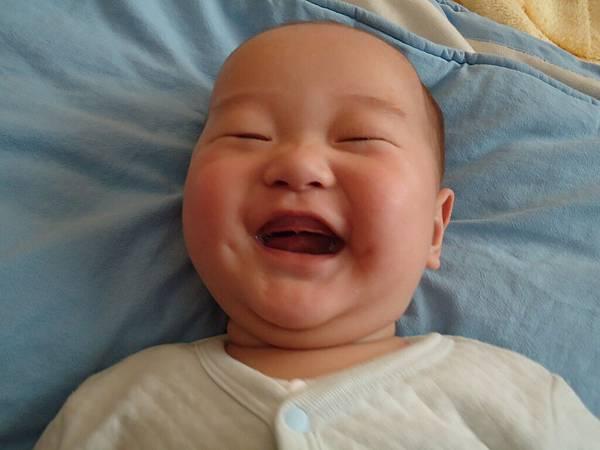 燦爛的笑容