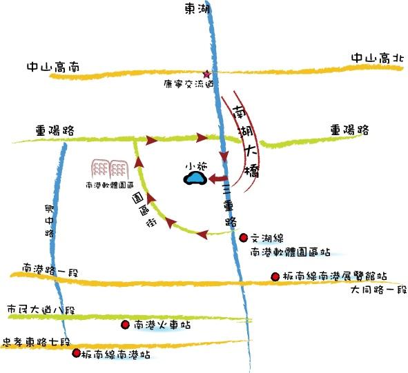 三重路手繪地圖(1)